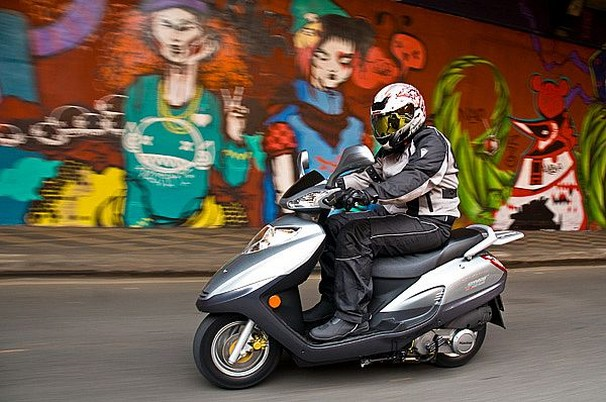 Scooter Dafra Smart 125 com preço especial