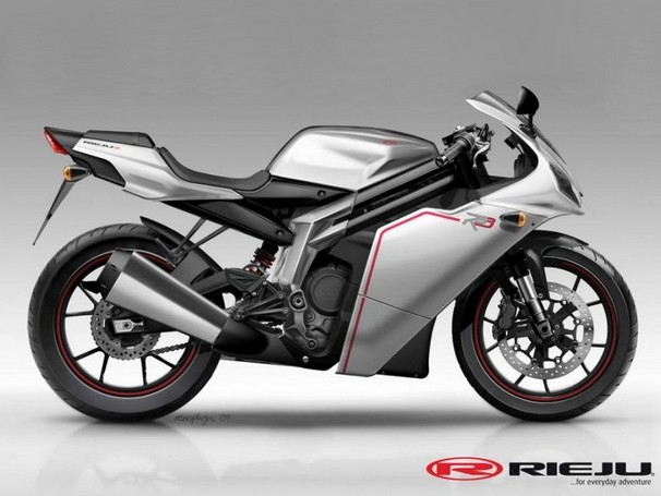 Moto 125 Rieju RS3
