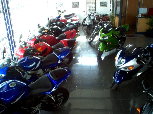 Venda de motos no Brasil