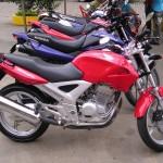 Preço das motos novas