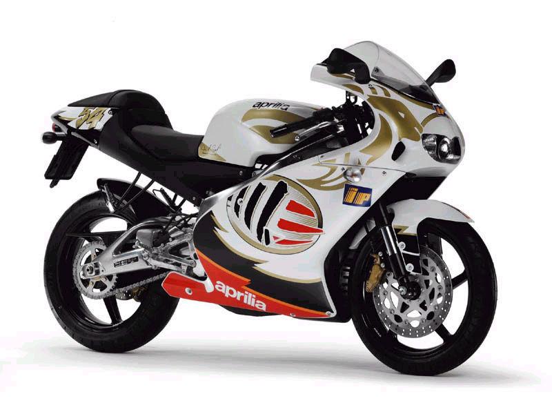 Moto Aprilia 125 tunada