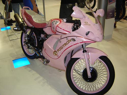 Moto Honda 125 tunada